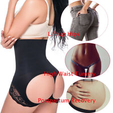 Ladies Pull Me In Hold In Booty Lifter Up Plus Size High Waist Shaper Underwear