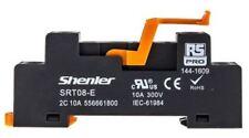 RS Pro 8 Pin Relais Douille, Din Rail, 300 V pour utiliser avec RFT interface relais