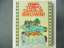 1 x RITMO RITMO Charlie Brown! - LIBRO ILLUSTRATO - 1979 | Rar! | Ben
