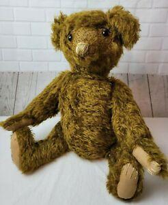 """21"""" Vintage Teddy Bear Mohair with Growler"""