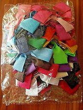 20 Pcs Multi-Colored Ribbon Hair Bow Alligator Clip