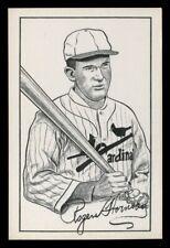 1973 TCMA Postcard *** ROGERS HORNSBY *** St. Louis Cardinals