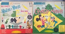 2 Walt Disney'S Mickey Mouse 6 In 1, 45 Rpm Records, 1952