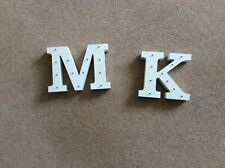 Light Up Letters K & M Takes 2 XAAA Batteries