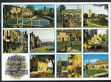 Gloucestershire Postcard - Around The Cotswolds    LC3864