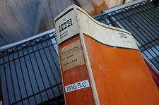 CASE 1816 1816B 1816C SKID STEER LOADER Repair Shop Service Manual book overhaul