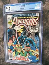 Avengers #160 35 cent price variant CGC 9.4 Tied HIGHEST GRADED!