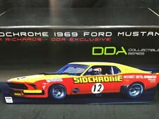 1:18 1969 Ford Boss 302 MUSTANG TRANS AM Jim Richards #12 SIDCHROME DDA