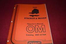 Owatonna 560 Stacker & Mover Operator's Manual RWPA