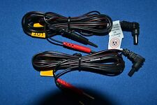 """Replacement TENS/EMS Unit Lead Wires with Pin Connectors, 45"""" - 2 ea (1Pair)"""