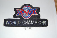 Super Bowl XXVI (26) World Champions Washington Redskins Patch Football
