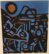 """FRANCIS """"THE FAIR"""" LIMITED SIGNED ABSTRACT LITHOGRAPH"""