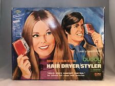 Vintage Buddy VII Deluxe Hair Dryer Styler By Brother Made In Japan Model 635