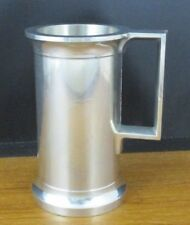 1980's Advertising AIR FRANCE CONCORDE Pewter Shot Glass 2 SIZES Baby & Whisky