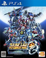 Used PS4 Super Robot Taisen OG: The Moon Dwellers Japan Import Free Shipping