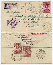 GOLD COAST AYENSUAKU REGISTERED KWANYAKU 1st + 2nd DELIVERY CLOSED FLEET ST 1945