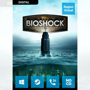 BioShock The Collection for PC Game Steam Key Region Free