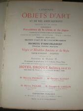 catalogue de ventes Paris 1926 331 Lots tableaux objets d'art bel ameublement