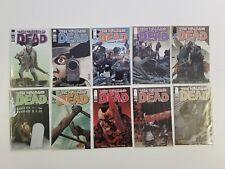walking dead 10 issue lot 104 105 106 107 108 109 110 111 112 113 1st print run