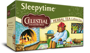 Celestial Seasonings Sleepytime Herbal Tea, 1 Box, 20 tea bags sleepy chamomile