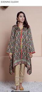 Cross stitch kurta Size L sana safinaz khaadi sapphire Agha Noor Maria B Ethnic