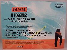 GUAM IL LEGGINGS con alghe marine riduce cellulite tonicità pelle TG S-M 40-44