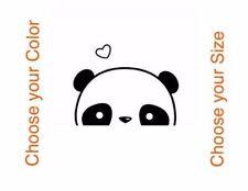 Cute Kawaii Hiding Panda Car Vinyl Sticker Window Bumper Phone Laptop Decal