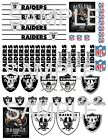 Raiders 1/24 1/32 1/40 scale decals for die cast and model cars