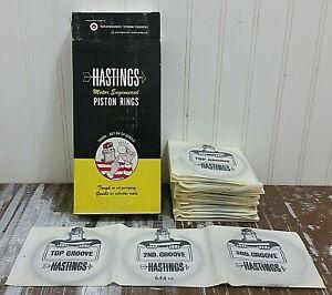 New HASTINGS Piston Ring Set 644 STD 6 Cyl 4.120 in. Bore Pontiac Stutz 400 428