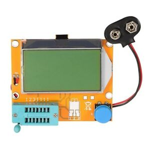 LCR-T4 12864 LCD Transistor Tester Diode Triode Capacitor Detector ESR SCR Meter