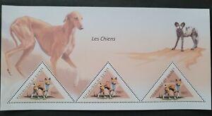 Guinea 2011/ Domestic Animals - Dogs / 3v minishet MNH