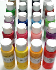 Docraft Artiste Craft Acrylic Paint in 59ml Bottles Choose From 60 Matt Colours