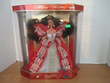 Mattel 1997 HAPPY HOLIDAYS BARBIE DOLL~New in Package~17832