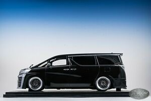 1/18 Ignition Model IG Toyota Vellfire (30) ZG Gloss Black Van