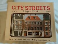 "CITY STREETS MODELS  ""Lloyds Bank""  OO/HO Gauge Resin Building Kit No.8"