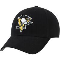 Pittsburgh Penguins NHL Adult Fan Favorite Hat Embroidered Logo Adjustable NWT🏒