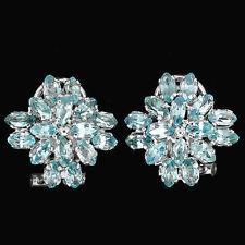 Zircon Cluster Fine Earrings