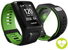 TomTom Runner 3 Cardio GPS Watch with large sangle
