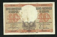 Albanie : 10 Lek 1940