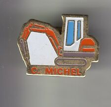 RARE PINS PIN'S .. AGRICULTURE TRACTEUR TRACTOR BTP ENGIN TERRASSEMENT MICHEL~DB
