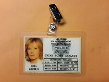CSI Las Vegas TV Show ID Badge - Catherine Willows prop cosplay costume