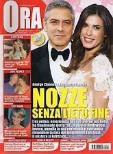 Ora 2014 5.Elisabetta Canalis-G.Clooney,Natalia Titova-Max Rosolino,Lady Diana