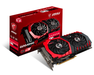 MSI Radeon AMD RX 570 4GB GDDR5 Gaming Graphics Card - USED