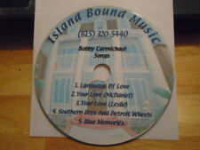 RARE PROMO Bobby Carmichael DEMO CD country UNRELEASED Lisa Brokop publishing !
