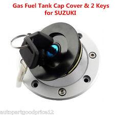 Fuel Gas Tank Cap Cover Lock &Key for Suzuki GSXR 600 750 1000 Hayabusa GSXR1300