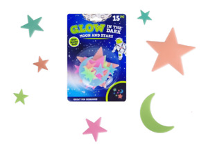 Glow In The Dark Self adhesive Stars Moon Stickers Ceiling Wall Bedroom Stick