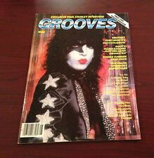 KISS ** GROOVES PRESENTS  Magazine ** Vintage May 1979' **