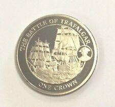 2008 Battle of Trafalgar Gibraltar Crown Uncirculated Coin