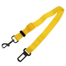 Giallo Regolabile Cintura di sicurezza per il cane / gatto di sicurezza del O1U8