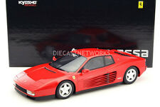 Kyosho 1984 Ferrari Testarossa Red Color 1/12 Scale New Release! In Stock!